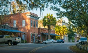 Historic downtown micanopy